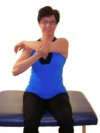 shoulder stretches are necessary to maintain balance in
