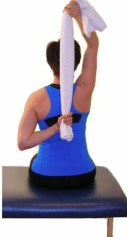 exercises for seniors supraspinatus stretch