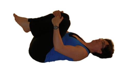 exercises for posture - flexion in lying