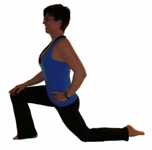Hip stretch - iliopsoas