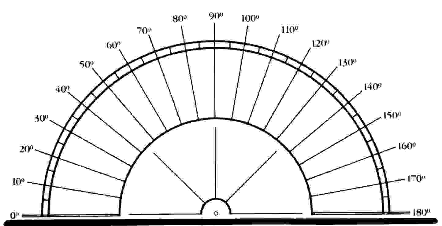 worksheet Protractor Print similiar protractor template keywords simple print out jpg