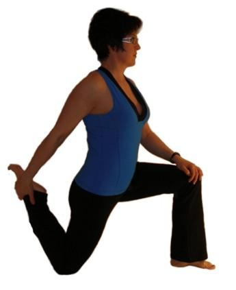 Quadriceps stretches are commonly done prior to any ...