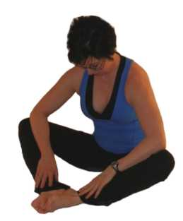 short adductor stretch sitting